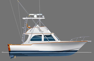 Mirage 32 Flybridge
